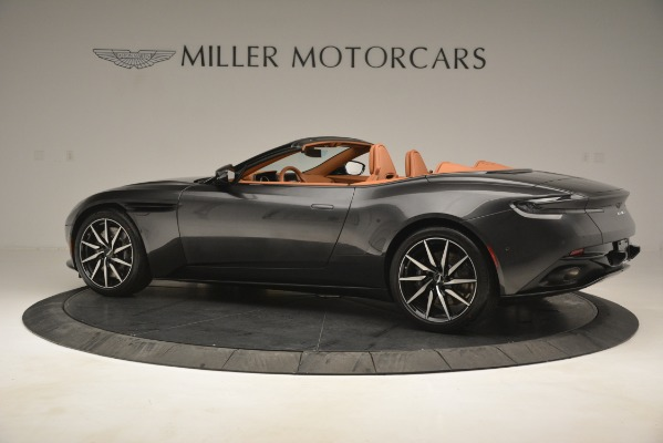 Used 2019 Aston Martin DB11 V8 Volante for sale Sold at Rolls-Royce Motor Cars Greenwich in Greenwich CT 06830 3