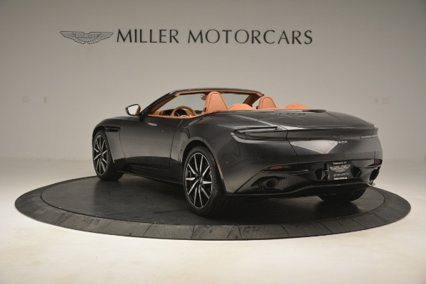 Used 2019 Aston Martin DB11 V8 Volante for sale Sold at Rolls-Royce Motor Cars Greenwich in Greenwich CT 06830 4