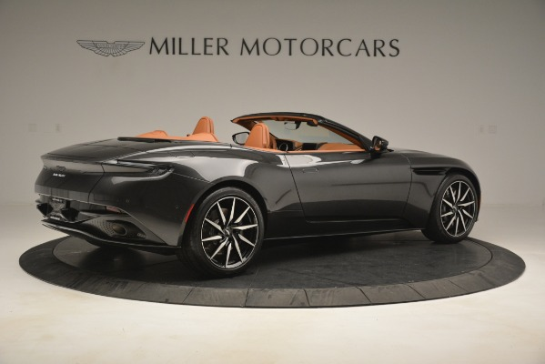 Used 2019 Aston Martin DB11 V8 Volante for sale Sold at Rolls-Royce Motor Cars Greenwich in Greenwich CT 06830 7