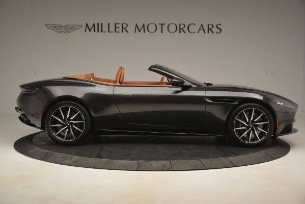 Used 2019 Aston Martin DB11 V8 Volante for sale Sold at Rolls-Royce Motor Cars Greenwich in Greenwich CT 06830 8