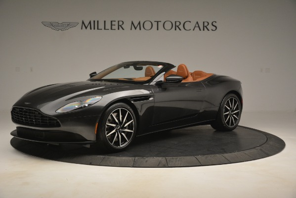Used 2019 Aston Martin DB11 V8 Volante for sale Sold at Rolls-Royce Motor Cars Greenwich in Greenwich CT 06830 1