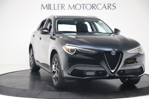 New 2019 Alfa Romeo Stelvio Ti Q4 for sale Sold at Rolls-Royce Motor Cars Greenwich in Greenwich CT 06830 11