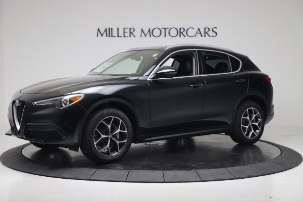New 2019 Alfa Romeo Stelvio Ti Q4 for sale Sold at Rolls-Royce Motor Cars Greenwich in Greenwich CT 06830 2