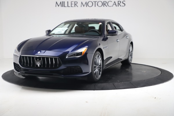 New 2019 Maserati Quattroporte S Q4 for sale Sold at Rolls-Royce Motor Cars Greenwich in Greenwich CT 06830 1