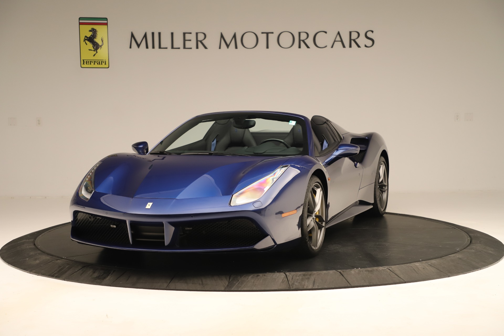 Used 2019 Ferrari 488 Spider for sale Sold at Rolls-Royce Motor Cars Greenwich in Greenwich CT 06830 1