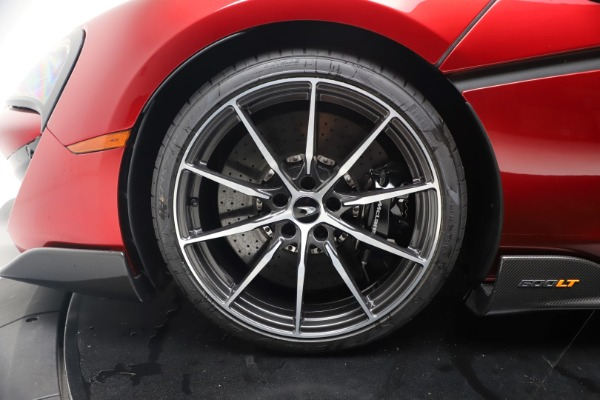 New 2019 McLaren 600LT for sale $285,236 at Rolls-Royce Motor Cars Greenwich in Greenwich CT 06830 16