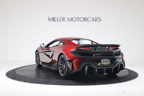 New 2019 McLaren 600LT Coupe for sale $285,236 at Rolls-Royce Motor Cars Greenwich in Greenwich CT 06830 4