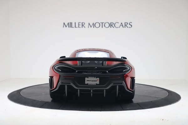 New 2019 McLaren 600LT Coupe for sale $285,236 at Rolls-Royce Motor Cars Greenwich in Greenwich CT 06830 5