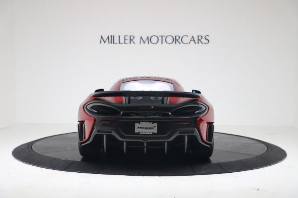 New 2019 McLaren 600LT for sale $285,236 at Rolls-Royce Motor Cars Greenwich in Greenwich CT 06830 5