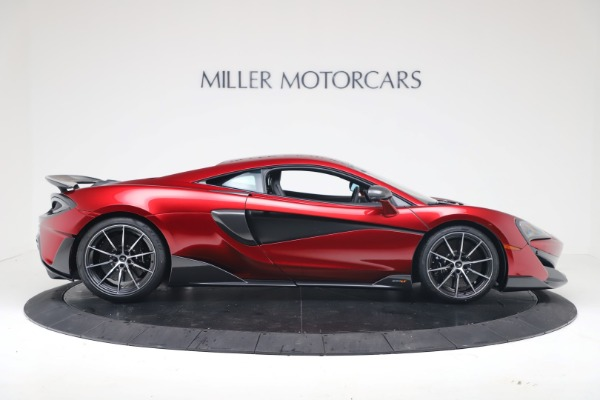 New 2019 McLaren 600LT for sale $285,236 at Rolls-Royce Motor Cars Greenwich in Greenwich CT 06830 8