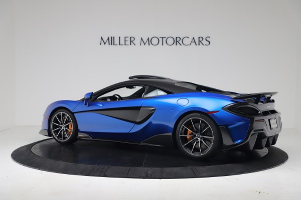 New 2019 McLaren 600LT Coupe for sale Sold at Rolls-Royce Motor Cars Greenwich in Greenwich CT 06830 3