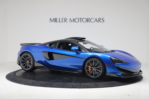 New 2019 McLaren 600LT Coupe for sale Sold at Rolls-Royce Motor Cars Greenwich in Greenwich CT 06830 9