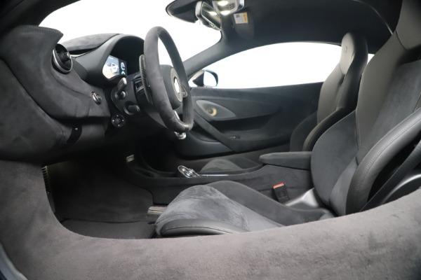 New 2019 McLaren 600LT for sale $305,639 at Rolls-Royce Motor Cars Greenwich in Greenwich CT 06830 19