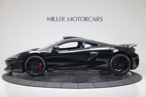 New 2019 McLaren 600LT Coupe for sale $305,639 at Rolls-Royce Motor Cars Greenwich in Greenwich CT 06830 2
