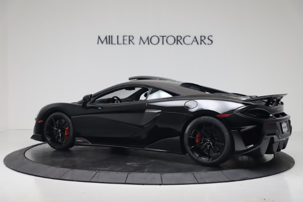 New 2019 McLaren 600LT Coupe for sale $305,639 at Rolls-Royce Motor Cars Greenwich in Greenwich CT 06830 3