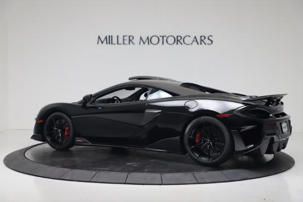 New 2019 McLaren 600LT for sale $305,639 at Rolls-Royce Motor Cars Greenwich in Greenwich CT 06830 3