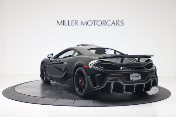 New 2019 McLaren 600LT Coupe for sale $305,639 at Rolls-Royce Motor Cars Greenwich in Greenwich CT 06830 4