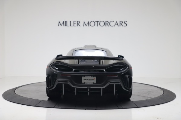 New 2019 McLaren 600LT Coupe for sale Sold at Rolls-Royce Motor Cars Greenwich in Greenwich CT 06830 5
