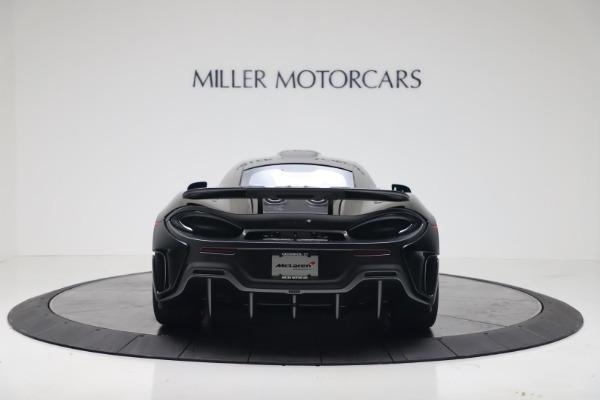 New 2019 McLaren 600LT for sale $305,639 at Rolls-Royce Motor Cars Greenwich in Greenwich CT 06830 5