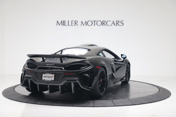 New 2019 McLaren 600LT Coupe for sale $305,639 at Rolls-Royce Motor Cars Greenwich in Greenwich CT 06830 6