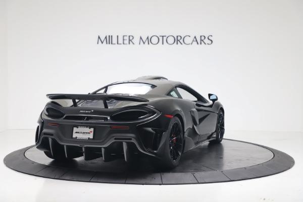 New 2019 McLaren 600LT for sale $305,639 at Rolls-Royce Motor Cars Greenwich in Greenwich CT 06830 6