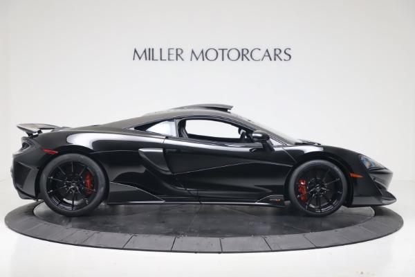 New 2019 McLaren 600LT for sale $305,639 at Rolls-Royce Motor Cars Greenwich in Greenwich CT 06830 8