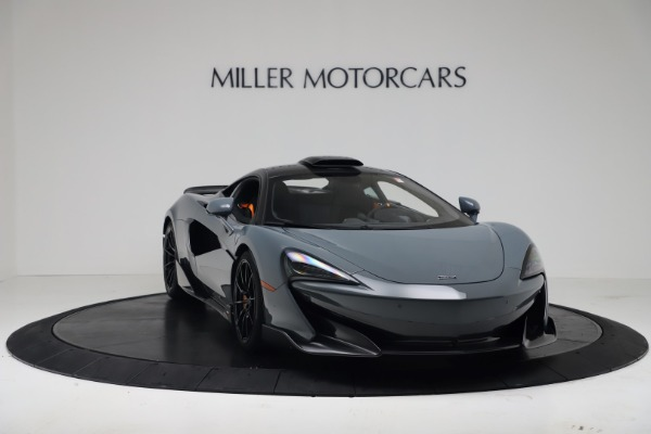 New 2019 McLaren 600LT for sale $311,619 at Rolls-Royce Motor Cars Greenwich in Greenwich CT 06830 10