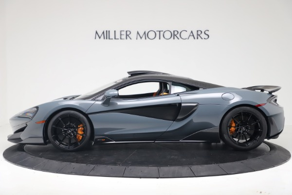 New 2019 McLaren 600LT Coupe for sale $311,619 at Rolls-Royce Motor Cars Greenwich in Greenwich CT 06830 2