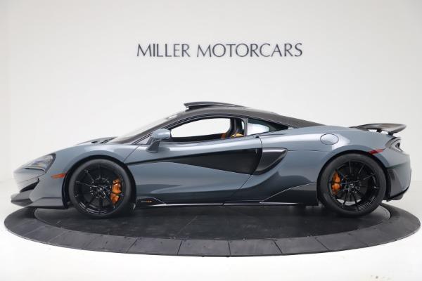 New 2019 McLaren 600LT for sale $311,619 at Rolls-Royce Motor Cars Greenwich in Greenwich CT 06830 2