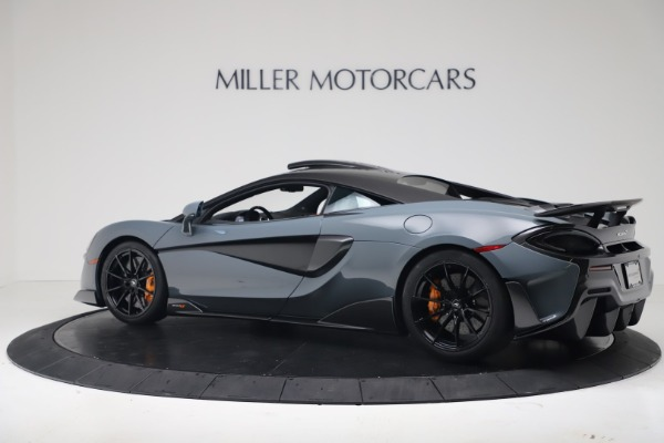 New 2019 McLaren 600LT Coupe for sale $311,619 at Rolls-Royce Motor Cars Greenwich in Greenwich CT 06830 3