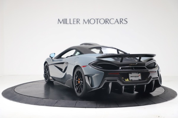 New 2019 McLaren 600LT Coupe for sale $311,619 at Rolls-Royce Motor Cars Greenwich in Greenwich CT 06830 4