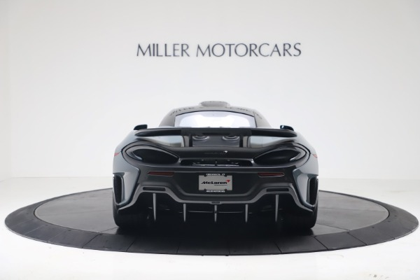 New 2019 McLaren 600LT for sale $311,619 at Rolls-Royce Motor Cars Greenwich in Greenwich CT 06830 5