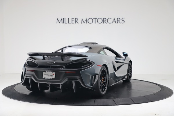New 2019 McLaren 600LT Coupe for sale $311,619 at Rolls-Royce Motor Cars Greenwich in Greenwich CT 06830 6
