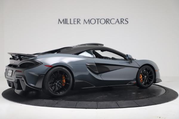 New 2019 McLaren 600LT for sale $311,619 at Rolls-Royce Motor Cars Greenwich in Greenwich CT 06830 7