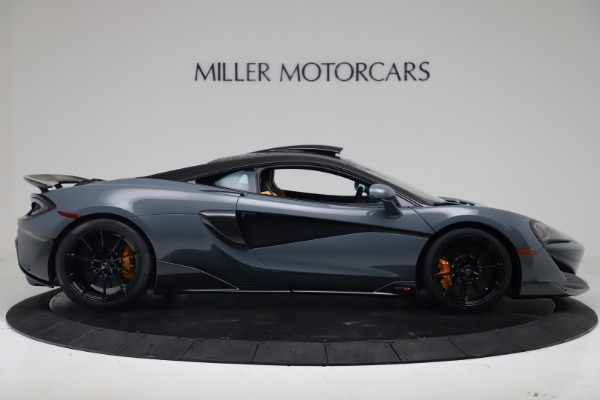 New 2019 McLaren 600LT Coupe for sale $311,619 at Rolls-Royce Motor Cars Greenwich in Greenwich CT 06830 8