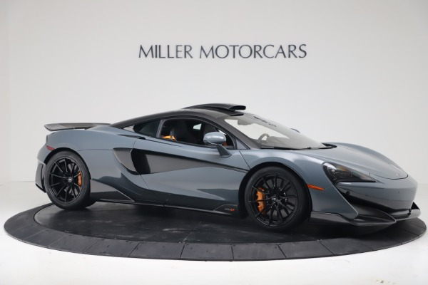 New 2019 McLaren 600LT Coupe for sale $311,619 at Rolls-Royce Motor Cars Greenwich in Greenwich CT 06830 9