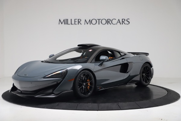 New 2019 McLaren 600LT Coupe for sale $311,619 at Rolls-Royce Motor Cars Greenwich in Greenwich CT 06830 1