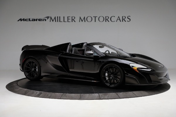 Used 2016 McLaren 675LT Convertible for sale Sold at Rolls-Royce Motor Cars Greenwich in Greenwich CT 06830 10