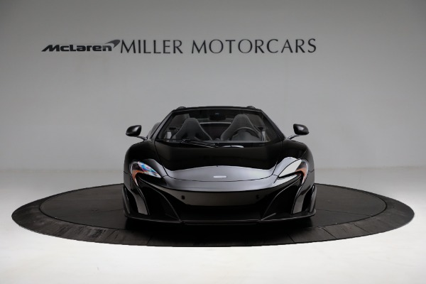 Used 2016 McLaren 675LT Convertible for sale Sold at Rolls-Royce Motor Cars Greenwich in Greenwich CT 06830 12
