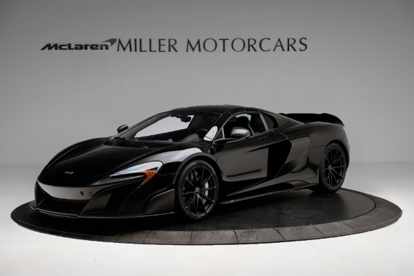 Used 2016 McLaren 675LT Convertible for sale Sold at Rolls-Royce Motor Cars Greenwich in Greenwich CT 06830 13