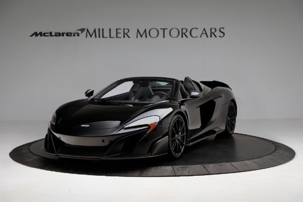 Used 2016 McLaren 675LT Convertible for sale Sold at Rolls-Royce Motor Cars Greenwich in Greenwich CT 06830 2