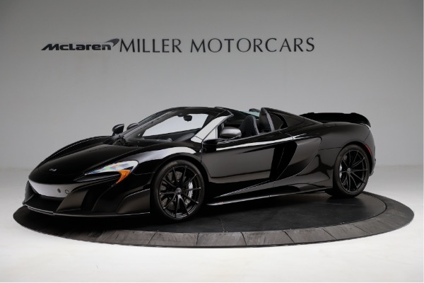 Used 2016 McLaren 675LT Convertible for sale Sold at Rolls-Royce Motor Cars Greenwich in Greenwich CT 06830 1