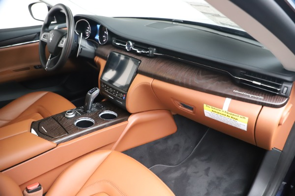 New 2019 Maserati Quattroporte S Q4 for sale Sold at Rolls-Royce Motor Cars Greenwich in Greenwich CT 06830 22