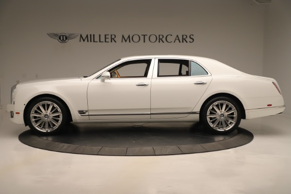 Used 2016 Bentley Mulsanne for sale Sold at Rolls-Royce Motor Cars Greenwich in Greenwich CT 06830 3