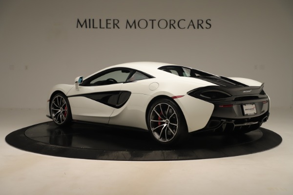 New 2020 McLaren 570S Coupe for sale $215,600 at Rolls-Royce Motor Cars Greenwich in Greenwich CT 06830 3