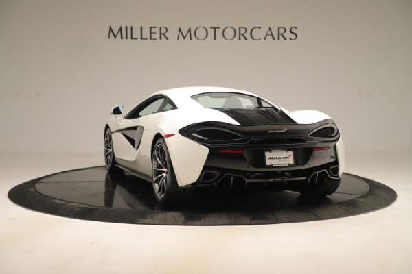 New 2020 McLaren 570S Coupe for sale $215,600 at Rolls-Royce Motor Cars Greenwich in Greenwich CT 06830 4