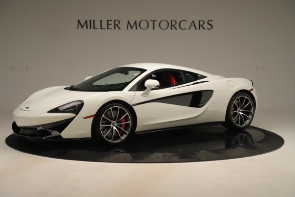 New 2020 McLaren 570S Coupe for sale $215,600 at Rolls-Royce Motor Cars Greenwich in Greenwich CT 06830 1