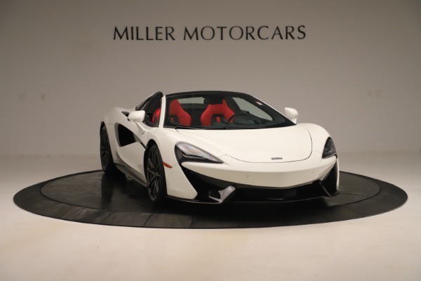 New 2020 McLaren 570S Convertible for sale Sold at Rolls-Royce Motor Cars Greenwich in Greenwich CT 06830 10