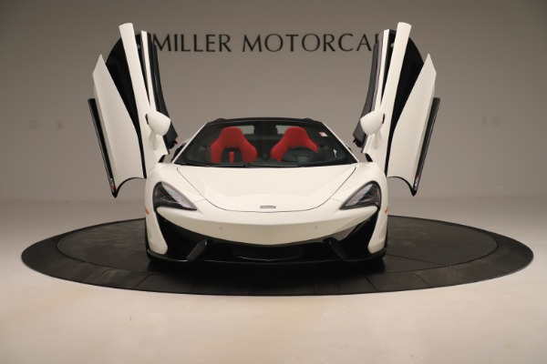 New 2020 McLaren 570S Convertible for sale Sold at Rolls-Royce Motor Cars Greenwich in Greenwich CT 06830 12