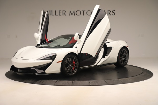 New 2020 McLaren 570S Convertible for sale Sold at Rolls-Royce Motor Cars Greenwich in Greenwich CT 06830 13